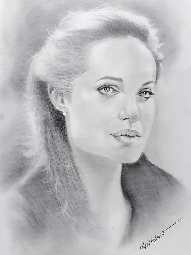 Angelina Jolie by Bobchew
